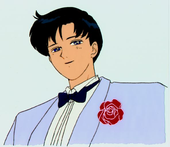 Cel of Mamoru dressed nicely