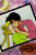 A trading card from R of Usagi and Mamoru kissing